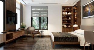 Quy tắc bố trí nội thất biệt thự hiện đại phòng ngủ